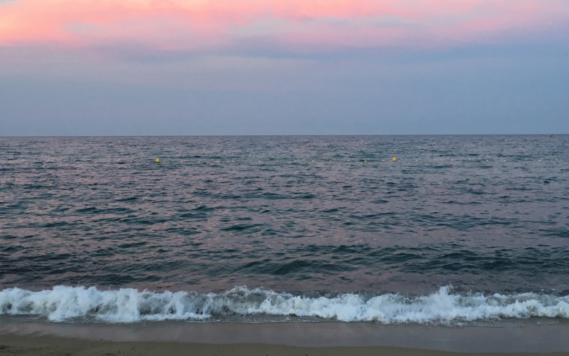 Umgebung #7: Sonnenuntergang am Strand