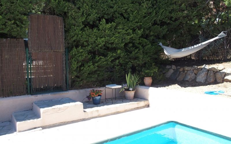 Außenanlage #18: Am Swimmingpool
